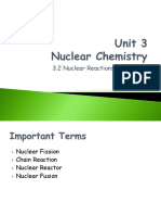 3-2 Nuclear Reactions and Energy