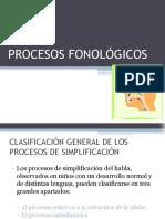 "PROCESOS FONOLÃ""GICOS"