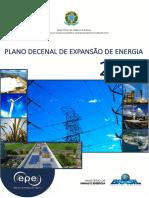 Relatório PDE 2026 Consulta Pública