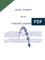 FUNCIÓN CUADRÁTICA