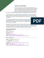 Diseñe filtros paso bajo con MATLAB.docx