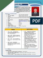 CV Theo Fajar Mulia - Job Vacancy (Resume)