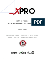 DXPRO Listas de Precios Agosto 2017
