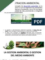 1ra ADMINISTRACION AMBIENTAL
