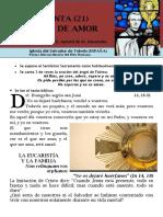 HORA SANTA Con San Pedro Julián Eymard. Eucaristía y Familia (22)