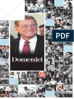 Sen. Pete Domenici Special Section