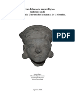 Informe Final de Arqueología