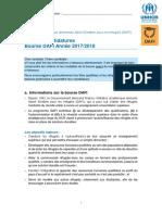 Formulaire de Demande DAFI FR
