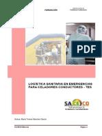 Logistica Sanitaria en Emergencias Para Celadores Conductores