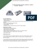 Detector de Metales de Mesa Industrial Para Alimentos p188075 Wizard Catalogo Espanol