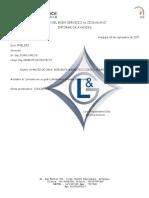 Carta G&L Electromecánica