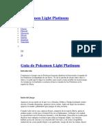 Guia PLight Platinum