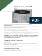 Alarma CajaRoja Teclado Display