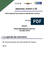 Cultura Japonesa, Kaizen y 5S
