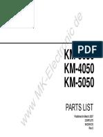 KM-3050-4050-5050