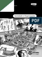 Sociedade e Organizações Vol 1
