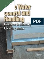 Rinse Water Control Handling