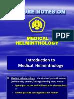 2.Medical Helminthology