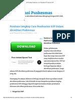SOP Akreditasi Puskesmas, Cara Pembuatan SOP, Kegunaan SOP.pdf