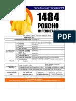 1484 Ficha Tecnica Poncho Impermeable