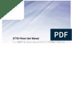 DT700 Series Manual