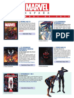 Catálogo NOVEMBRE 2017 Marvel