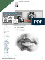 How to Draw Lips _ Stan Prokopenko's Blog