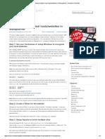 Websites in Wampserver