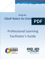 EQuIP Professional Learning Facilitator's Guide