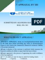 SBI project appraisal criteria by akanksha rastogi.ppt