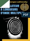 L'Oscillateur a Longueurs d'Ond - Georges Lakhovsky