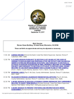 Fauquier Board of Supervisors 9 14 2017 Agenda