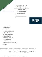 FYP Defense Sample