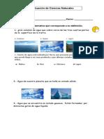 Evaluacion de Ciencias Naturales ( Adaptacion) 1