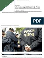 Naturalizar La Muerte_ La Violencia Policial en El Bajo Flores _ Agencia Paco Urondo