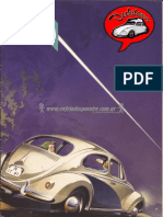 Folleto VW Aleman Original