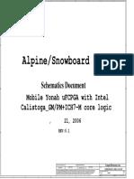 Lenovo 3000 n100 Compal La-3111p Hdl10 Alpine Snowboard 1.5 Rev 0.1 Sch