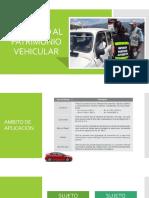 Diapositivas - IMPUESTO AL PATRIMONIO VEHICULAR - sujetos afectos.pptx