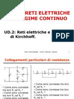 Ud.2 Reti Elettriche e Principi Di Kirchhoff