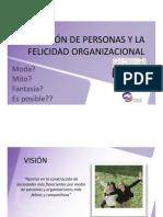Gestion de Personas y Felicidad Organizacional
