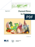 Forest Fires in Europe 2009