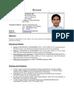 Nitesh Kr Jha Resume