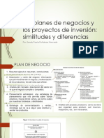 Plan y Proyecto