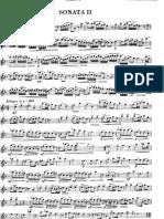 Benedetto Marcello sonata n.2 per flauto e piano
