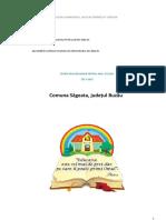 Oferta Educationala an Scolar 2017-2018 Sageata