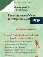 20574530-Etapas-de-un-modelo-de-investigacion-cientifica.ppt