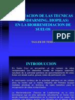 129513590 Evaluacion de Las Tecnicas Landfarming Biopilas