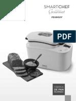 Manual Fabrica de Pan Peabody FP6401