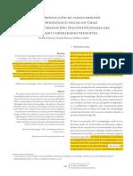 La Producción de Conocimiento Antropológico Social en Chile 3