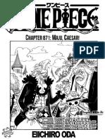 Komik One Piece Ch 871